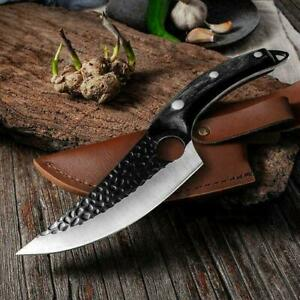 Skarde Viking Forged Kitchen Knife With Cover