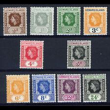 LEEWARD ISLANDS 1954 Short Set to 24c. SG 126-135. Mint Never Hinged. (AR154)