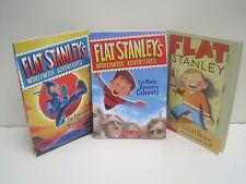 Flat Stanley Books by Jeff Brown, Lot of 3 Books