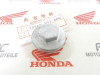 Honda CB 125 S Ablaßschraube Öl Alu Schraube Gehäuse Motor + Kappe Ventildeckel