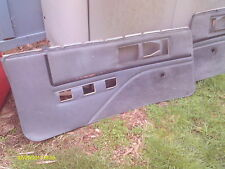 82-92 Camaro Firebird Gray Grey Door Panels