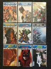 DC UNIVERSE REBIRTH Collection Of  #1 FIRST PRINTS Includes Harley Quinn Special