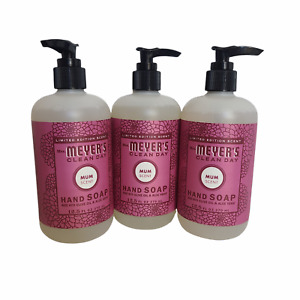Mrs Meyers Hand Soap Clean Day Mum Scent - 12.5 Oz  (Pack of 3)