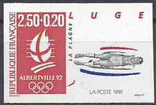 JEUX OLYMPIQUES JO N°2679 TIMBRE NON DENTELÉ IMPERF 1991 - NEUF ** LUXE MNH