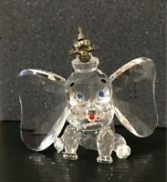 Disney Showcase Dumbo & Timothy Crystal World Ornament Figure Limited to 2750