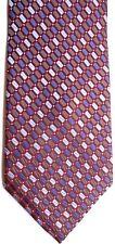 "Alexander Julian Men's Silk Tie 61.5"" X 4"" Multi-Color Geometric"
