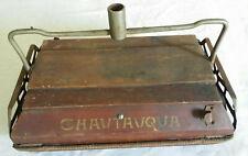 Antique Chautauqua Push Sweeper Head Antique Vaccuum Sweeper