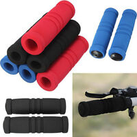 1 Pair Bike Bicycle Handle Handlebar Soft Sponge Bar Grips Nonslip ELBLUS