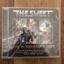 The Sweet Live In Denmark 1976 Sealed CD