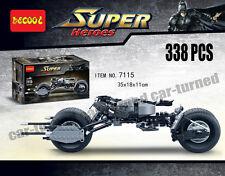 Decool Super heros Batman Bat-Pod Motor Bike Building Toys Brick Blocks 338pcs