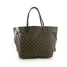 Authentic LOUIS VUITTON Damier Neverfull MM N41603  #N41-603-A00-0000
