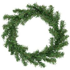 New~Christmas House Faux Pine Wreaths, 16.5 in. Christmas Decoration