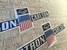Glastron Carlson set of two side' decals