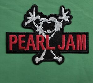 """New Pearl Jam  2 X 3 34 """" Inch Iron on Patch Free Shipping"""