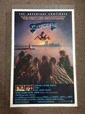 Superman II Original 1981 Rolled Movie Poster Christopher Reeve Gene Hackman