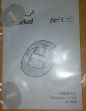 Resmed Airfit P10 Headgear Clips Part Number 62962 new