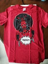 Lootcrate Exclusive - T-shirts - Deadpool Tacos?! - Red