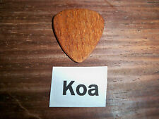 "Wood guitar pick ""Koa wood""  by RobinsonWood Picks"