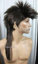 Quality MOHAWK Wig ..Unisex .  Chestnut Brown #6 .. HOT!