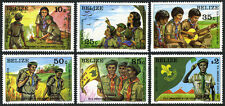 Belize 638-643,644-645 S/S, MNH. Scouting, 75th anniv. Lord Baden-Powell, 1982