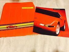 1991 Chevrolet Corvette Dealer Catalog