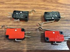 4 Pieces Omron Micro Limit Switch with Lever 15A 125/250VAC c16