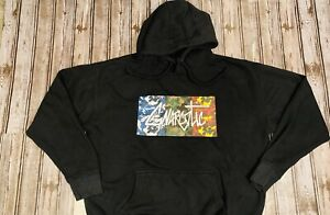 Gnarcotic Camo Men's Size Large Hoodie Pullover Sweatshirt Official Authentic
