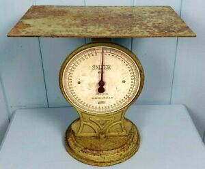 Scales Kitchen Slater Victorian 1890 Cast Iron Fully Working Made in England