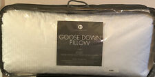 HOTEL COLLECTION KING European White Goose Down MEDIUM SUPPORT PILLOW $400
