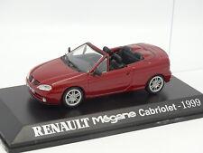 UH Presse 1/43 - Renault Megane Cabriolet 1999 Rouge