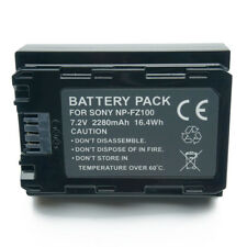NPFZ100 Camera Battery for Sony Alpha 9 A9 9R A9R 9S A9S A7RIII A7R3 7RM3 A7m3