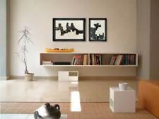 2 Eduardo Chillida Original Lithographs, 1968 (2pc Set) w/Archival Frame Include