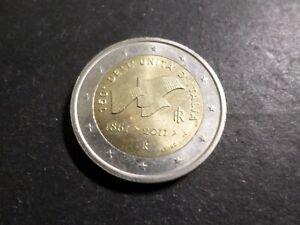 ITALIE - PIECE de MONNAIE de 2 euro 2011, 150° UNITA D ITALIA, VF COIN