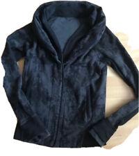 LULULEMON To Class Jacket size 2 Burlap Texture Black Dune EUC Run Gym Studio