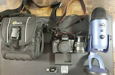 *Canon EOS M50 *Bundle* With Blue Yeti Microphone, Original Packaging Included!*