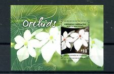 Grenadines Grenada 2015 MNH Orchids 1v S/S Flowers Flora Nature