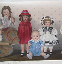 "TOY DOLLS BABIES & GIRLS Wallpaper Border 10 1/4"""