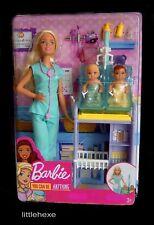 Barbie Kinderärztin, Ärztin Puppe + 2 Babys Spielset DVG10 NEU/OVP