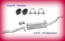Mittelschalldämpfer Auspuff VW Sharan 1.9 TDi (7M8, 7M9, 7M6) 90  - 115PS + Kit