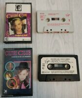 BUNDLE JOBLOT CULTURE CLUB KISSING TO BE CLEVER COLOUR BY NUMBERS CASSETTE TAPE