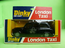 DINKY TOYS   284   LONDON TAXI    IN EXCELLENT CONDITION   IN BOX