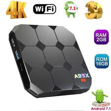 A95X R2 4K WIFI Smart Android 7.1 TV Box 2GB 16GB S905W Quad Core H.265 3D B0V1F