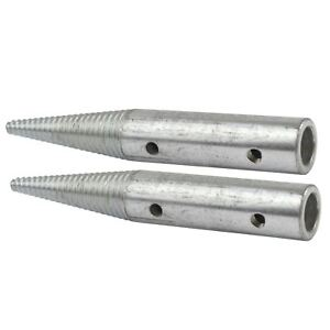 """Polishing Spindle 1/2"""" 6"""" Bench Grinder Left and Right Hand Spindles POL91_92"""