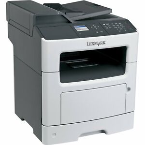 Lexmark XM3150 Multifunction LASER PRINTER COPY FAX SCAN 35S570 low count 35PPM