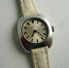 LADIES VINTAGE SWISS CERTINA MANUAL WIND KF13-22 ALL STEEL CASE DIAMETER 25 MM