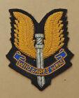 NEW ZEALAND S.A.S. Special Air Service Regiment Blazer Badge Bullion Wire 1980's