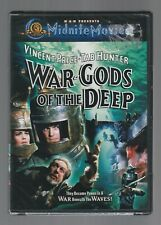 WAR GODS OF THE DEEP Vincent Price Susan Hart MGM Midnite Movies DVD NEW