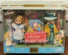 New Barbie 2002 Kelly & Tommy As Alice And The Mad Hatter - Disney - #57577 Nrfb