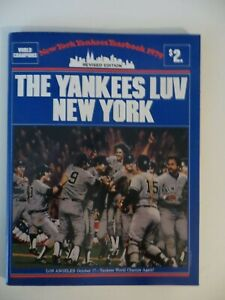 1979 NEW YORK YANKEES REVISED YEARBOOK - MINT CONDITION