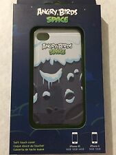 Angry Birds Space Hard Shell Soft Touch Case for Apple iPhone 4 4s cover Snow